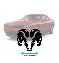 Stickers logo Dodge