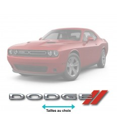 Stickers Dodge couleur
