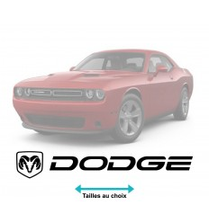 Stickers Dodge logo long