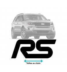 Stickers Ford RS