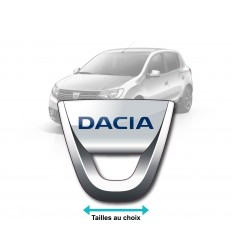 Stickers Dacia couleurs