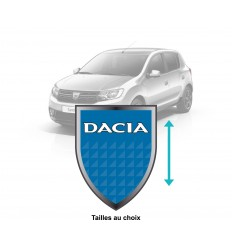Stickers Dacia blason