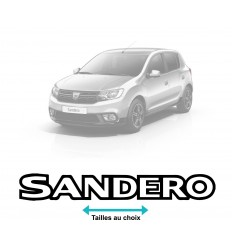 Stickers Dacia Sandero