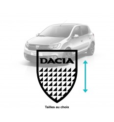 Stickers blason Dacia