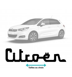 Stickers Logo Citroen Vintage
