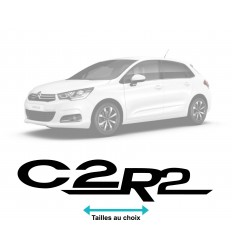 Stickers Logo Citroen C2 R2