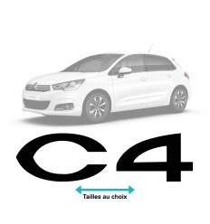 Stickers Logo Citroen C4