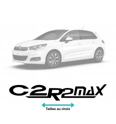 Stickers Logo Citroen C2 R2 max