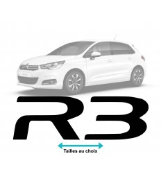 Stickers Logo Citroen R3