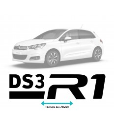 Stickers DS3 R1