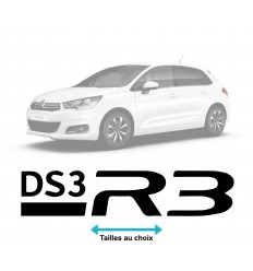 Stickers Citroen DS3 R3