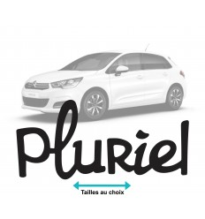 Stickers Citroen Pluriel