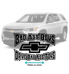 Stickers Chevrolet Bad Ass Boys