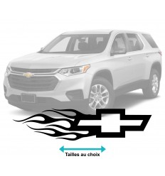 Stickers Chevrolet Flammes