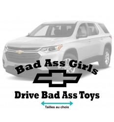Stickers Chevrolet Bad Ass toys girls