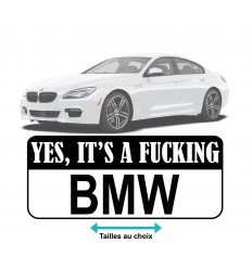 Stickers Yes BMW