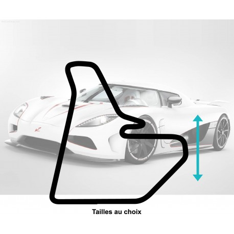 Stickers CIRCUIT Le Luc