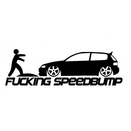 Stickers SpeedBump