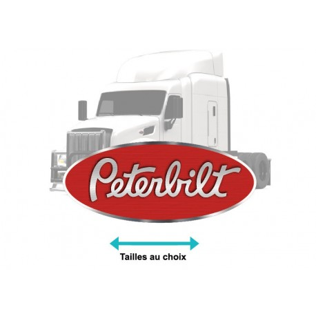 Stickers Peterbilt Truck