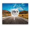 Stickers poster Dawn the road