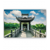Stickers poster temple chinois
