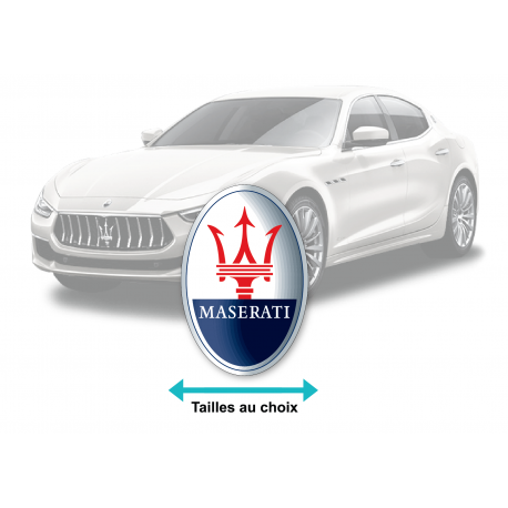 Stickers logo MASERATI
