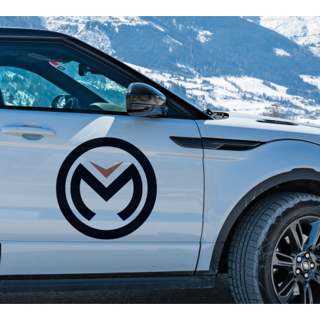 Stickers logo Moose Off-Road rond