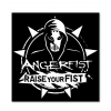 Stickers Angerfist RAISE YOUR FIST HARDCORE