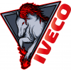 Stickers Iveco Red