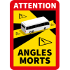 Stickers Officiel Angle Mort