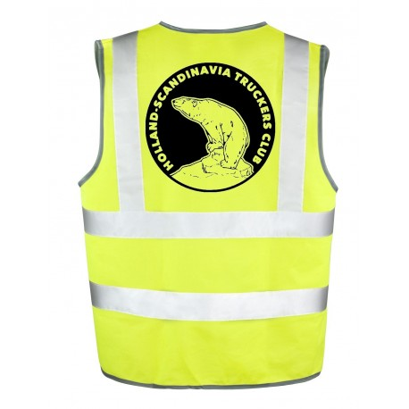 Gilet Jaune Holland - Scandinavia Truckers Club