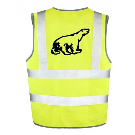 Gilet Jaune Ours Polaire