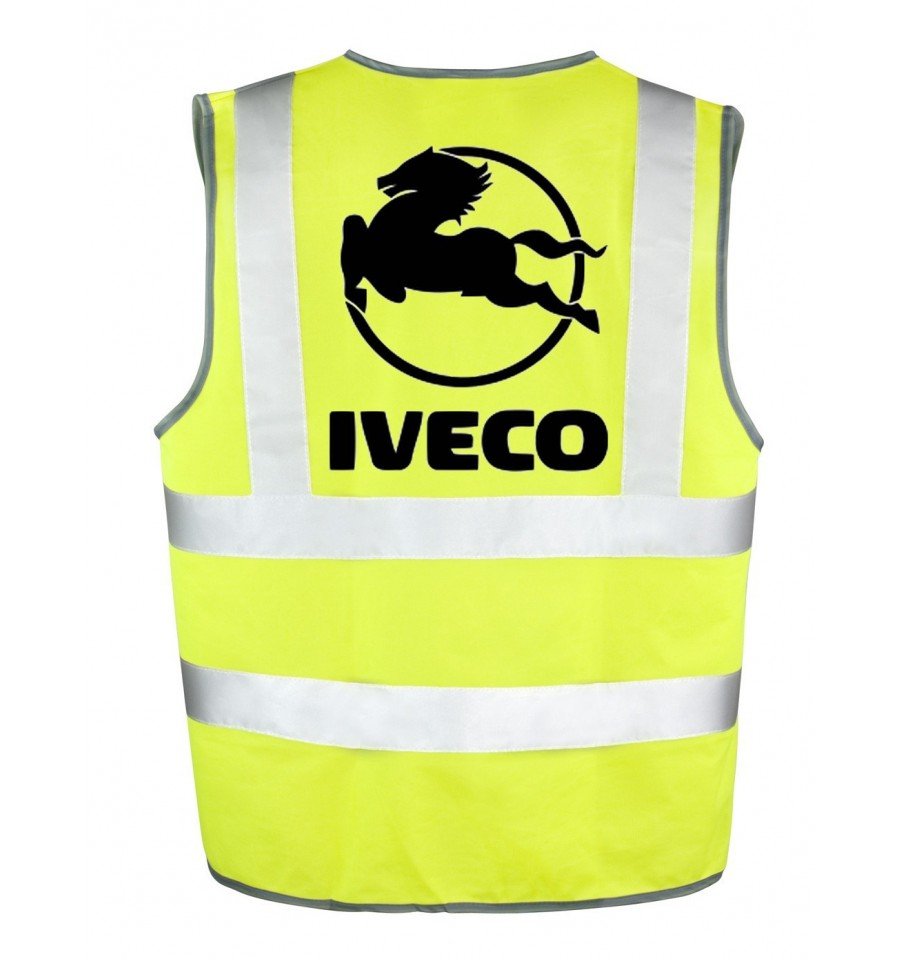 gilet jaune iveco v tement haute visibilit. Black Bedroom Furniture Sets. Home Design Ideas