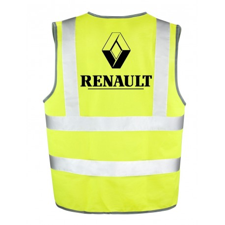 gilet jaune renault pour tre en s curit sur la route. Black Bedroom Furniture Sets. Home Design Ideas