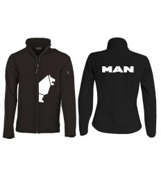 Veste Softshell lion MAN