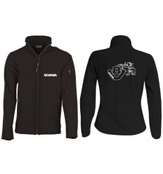 Veste Softshell scania V8