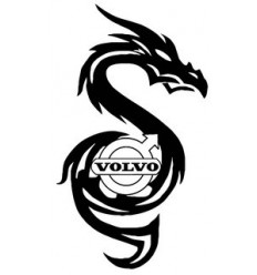 Stickers Volvo dragon