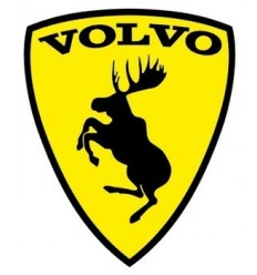Stickers Volvo Couleur blason