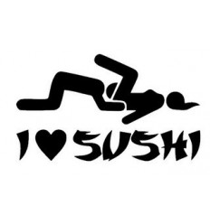 Stickers JDM Love Sushi