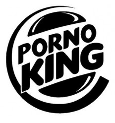 Stickers humour Porno King