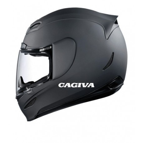 Stickers casque Cagiva