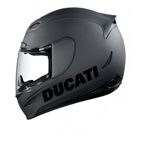Stickers casque Ducati