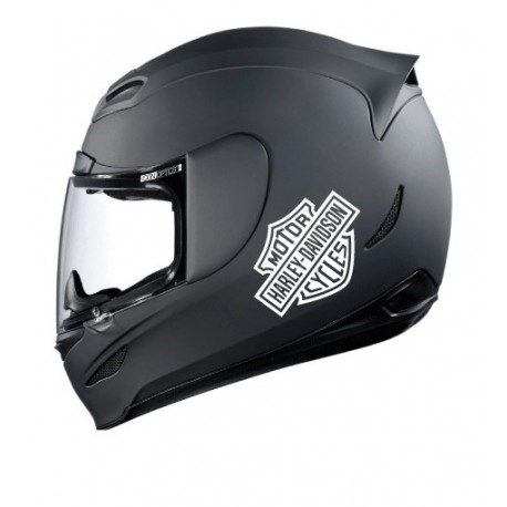 Stickers casque Harley Davidson