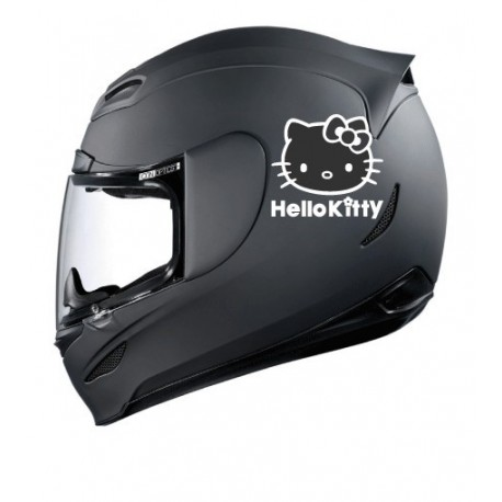 Stickers casque Hello Kitty