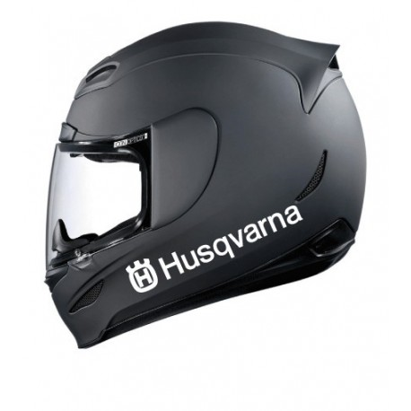 Stickers casque Husqvarna