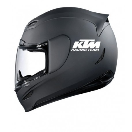 Stickers casque KTM Racing Team