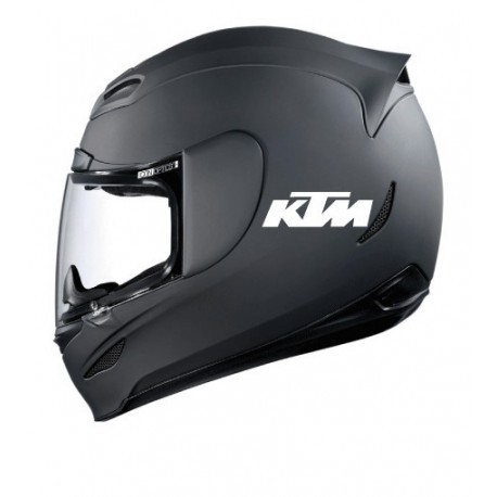 Stickers casque KTM