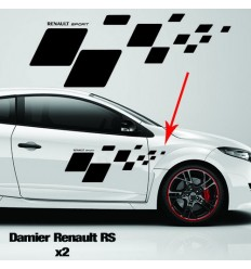 Kit de stickers damier Renault RS
