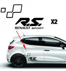 Stickers RS RENAULT SPORT