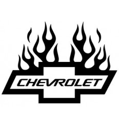 Flamming chevrolet logo